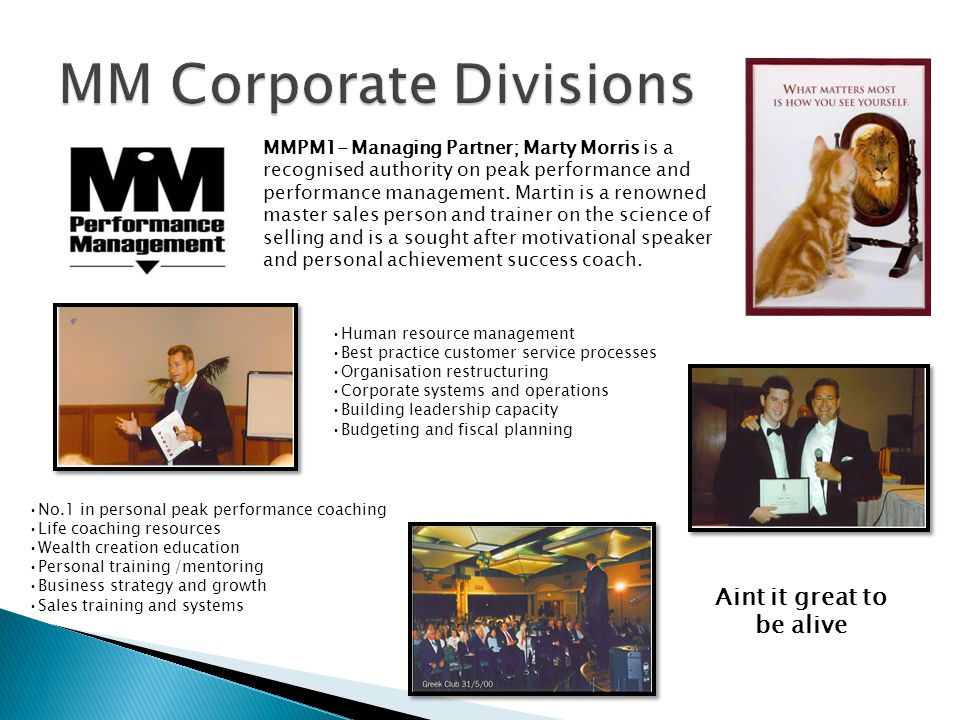  MM is a growth dynamics organization, developed over the last decade to operate as an international authority in estate and business brokerage services.