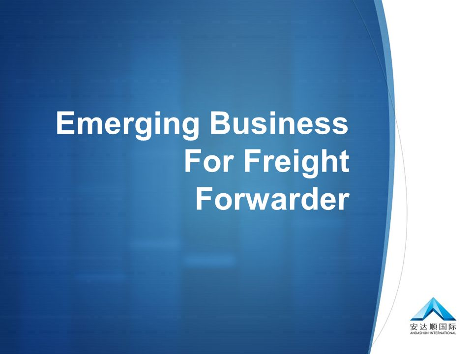 Emerging Business For Freight Forwarder