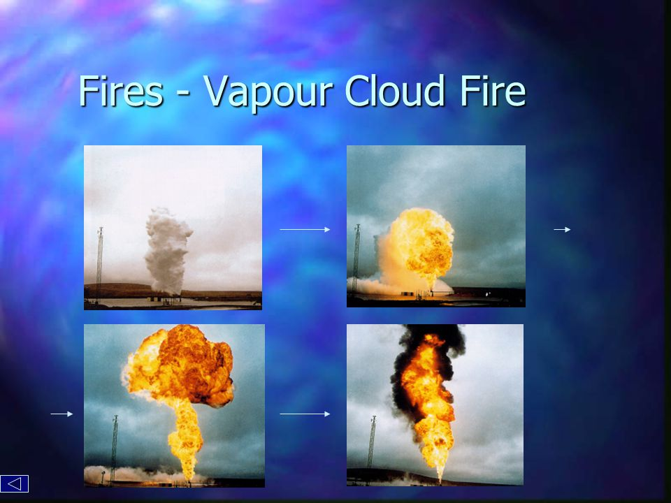 Fires - Vapour Cloud Fire