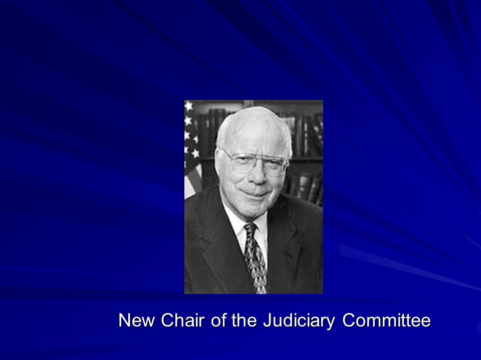 New Chair of the Judiciary Committee