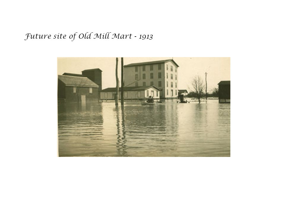 Future site of Old Mill Mart - 1913