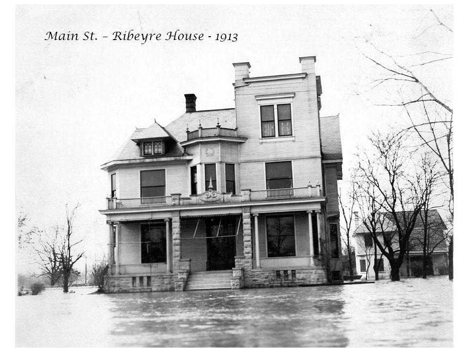 Main St. – Ribeyre House - 1913