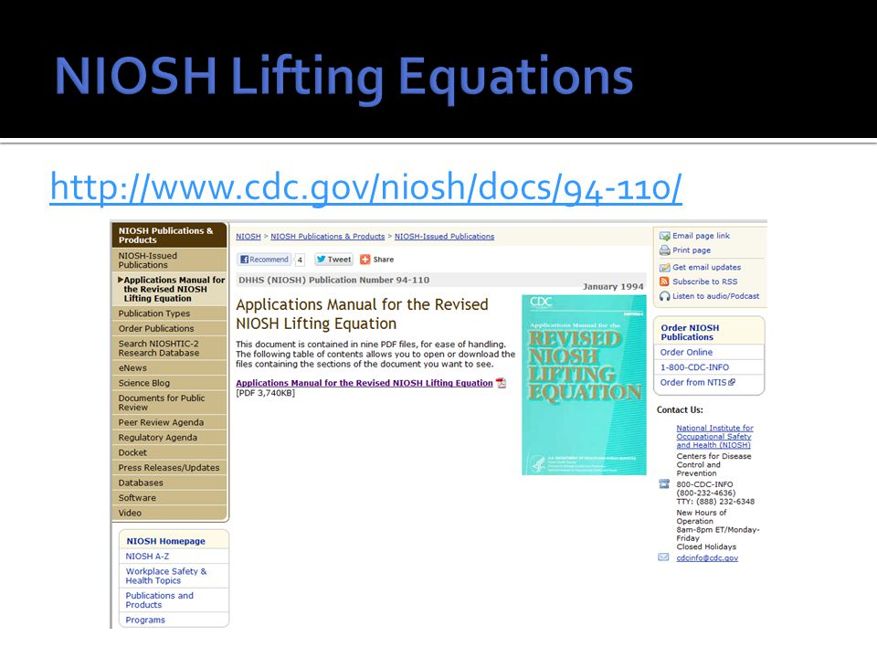 http://www.cdc.gov/niosh/docs/94-110/