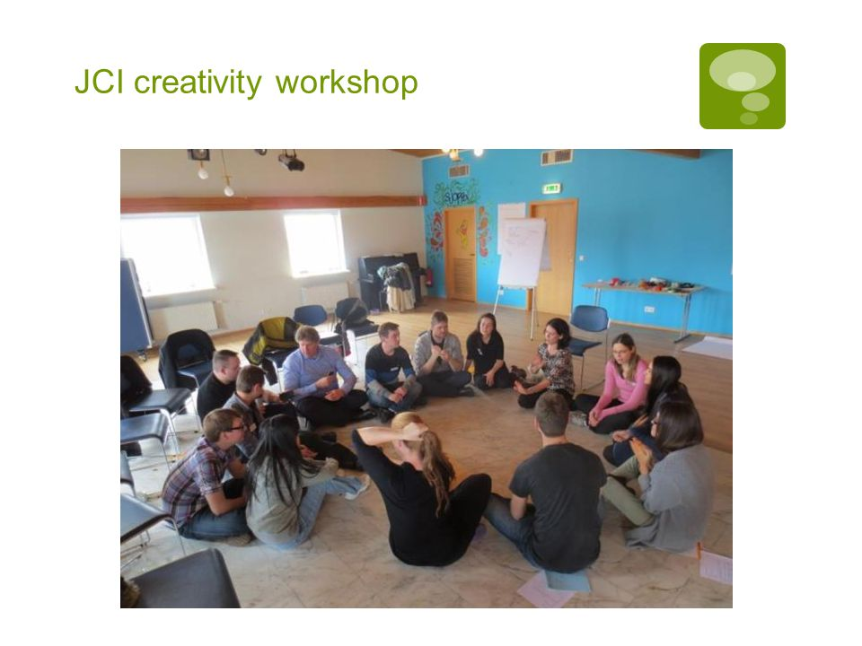 JCI creativity workshop