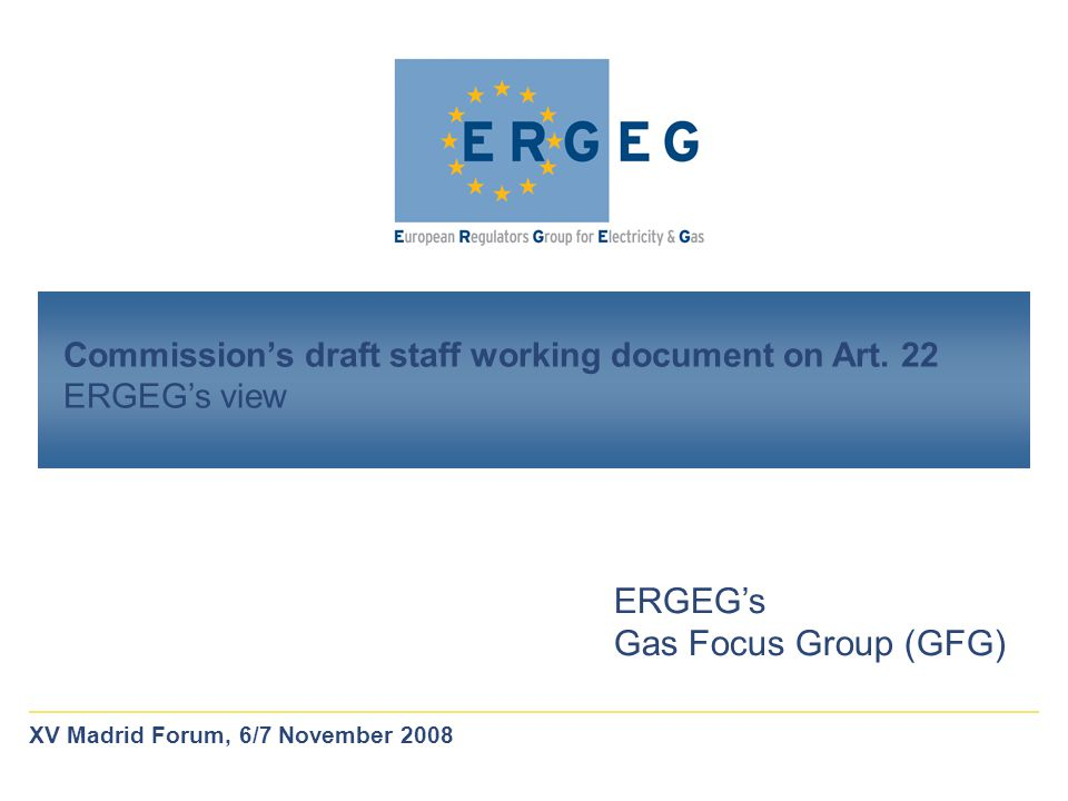 Commission's draft staff working document on Art.