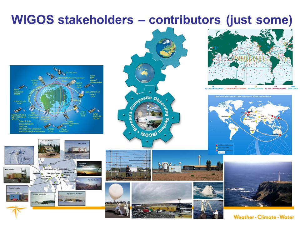 WIGOS stakeholders – contributors (just some) 6