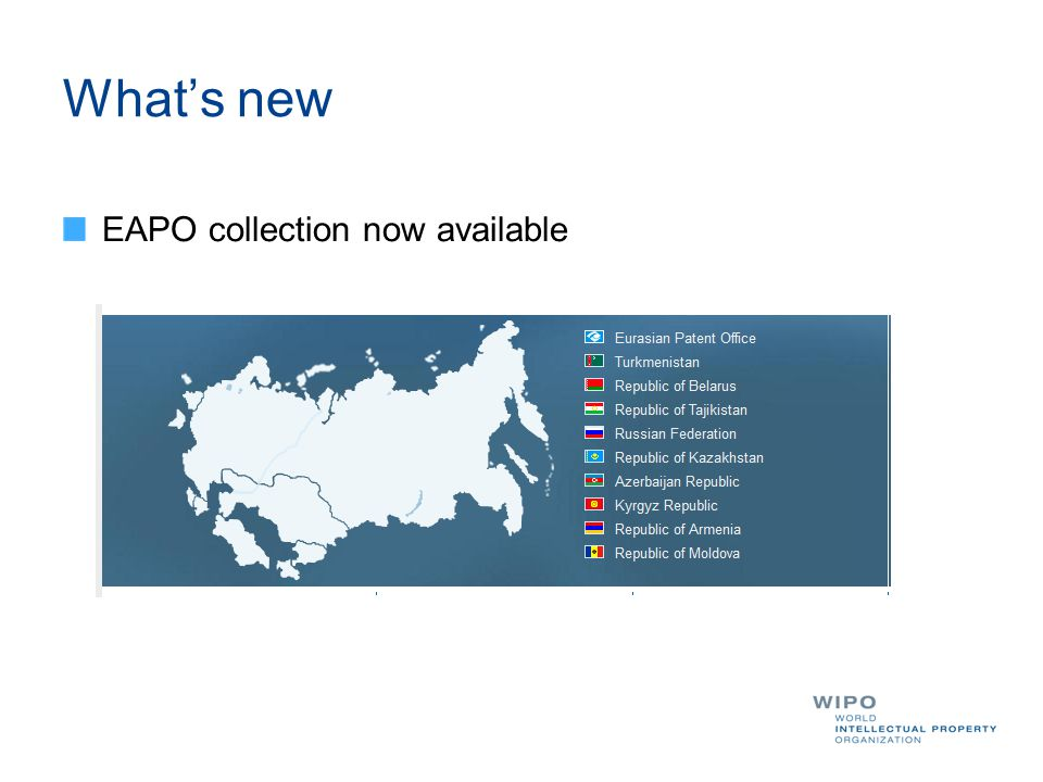 What's new EAPO collection now available