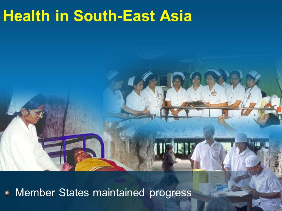 Member States maintained progress Health in South-East Asia