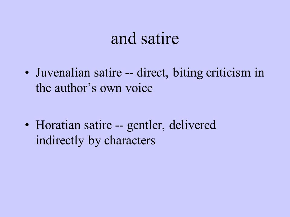 A general definition Satire is the literary art of diminishing a subject by making it ridiculous and evoking toward it attitudes of amusement, contempt, indignation, or scorn.