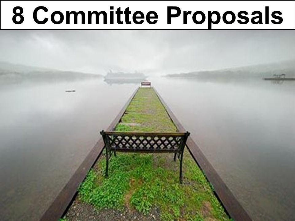 8 Committee Proposals