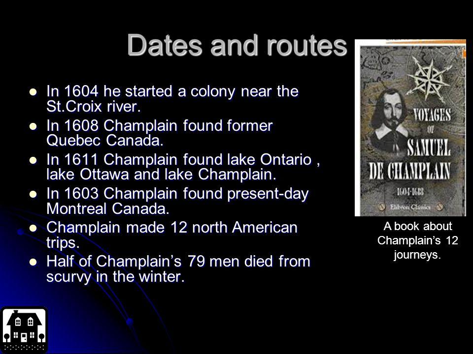 samuel de champlain important facts