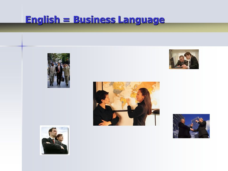 English = Business Language