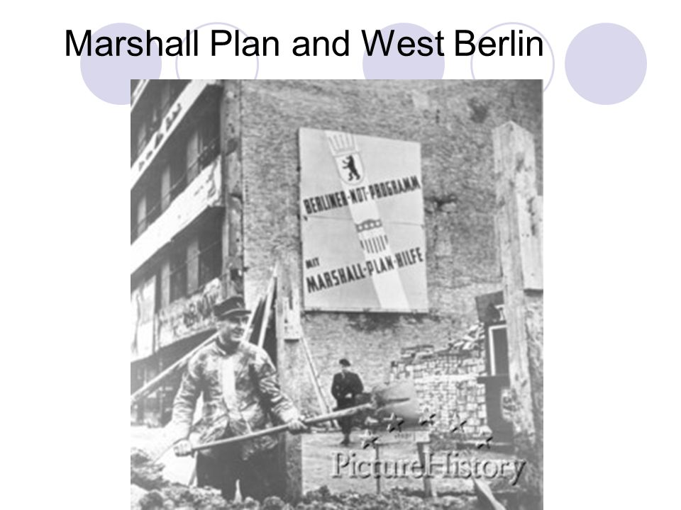 Marshall Plan and West Berlin
