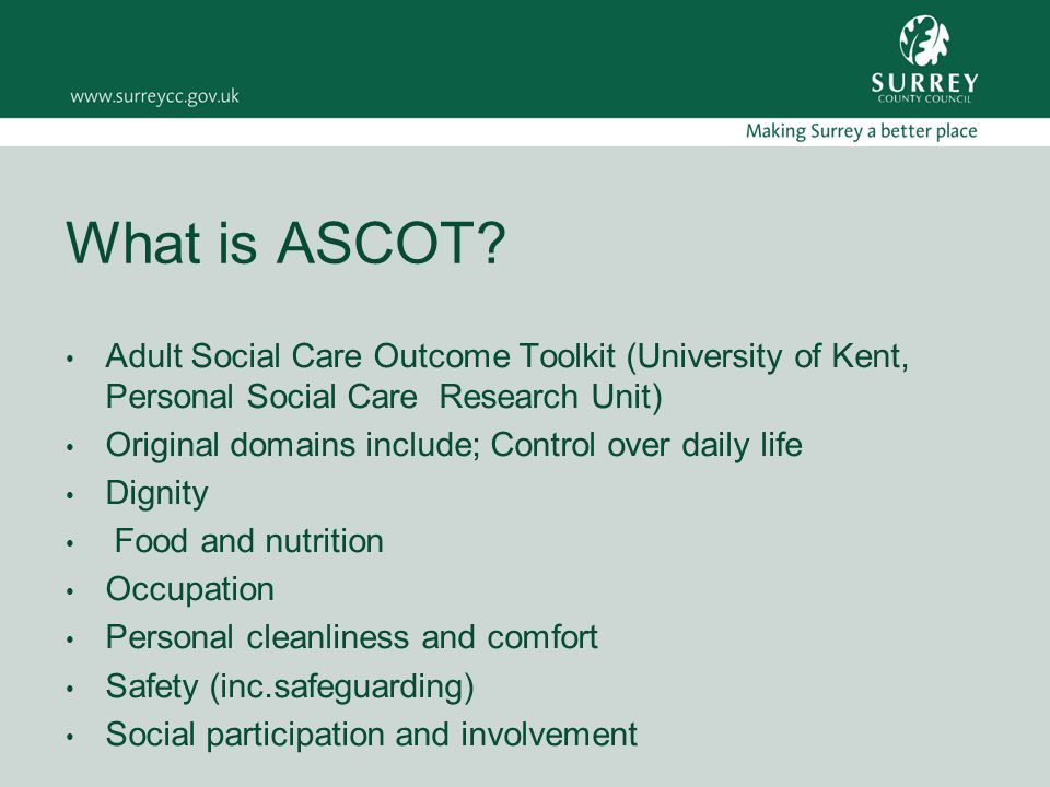What is ASCOT.