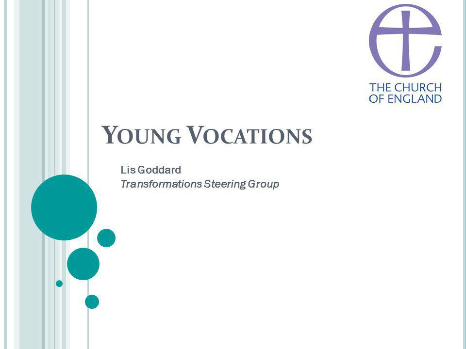 Y OUNG V OCATIONS Lis Goddard Transformations Steering Group