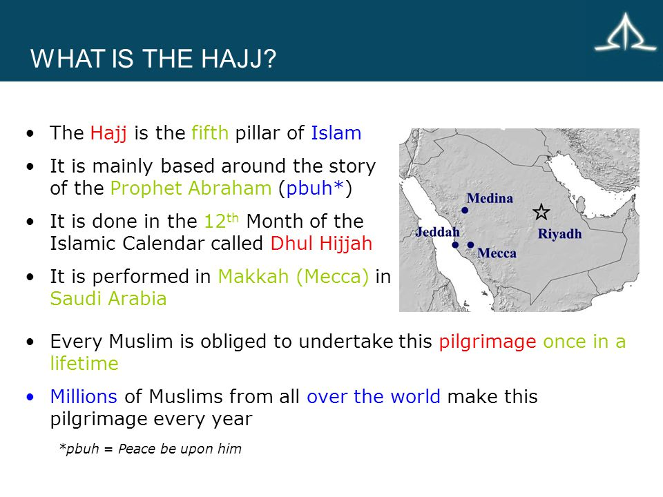 WHAT IS THE HAJJ.