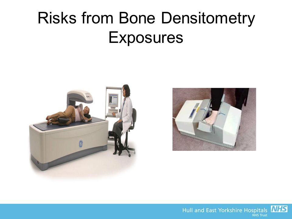 Risks from Bone Densitometry Exposures