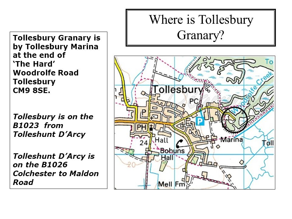Where is Tollesbury Granary.