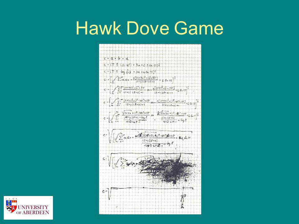 Hawk Dove Game