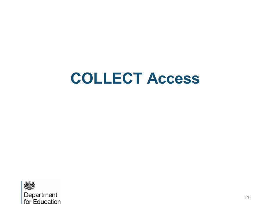 COLLECT Access 29