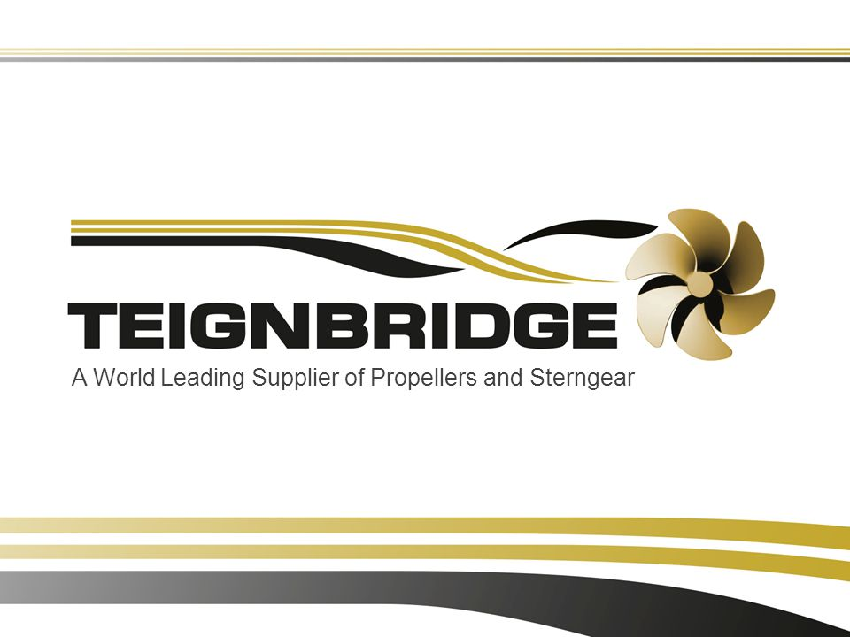 A World Leading Supplier of Propellers and Sterngear