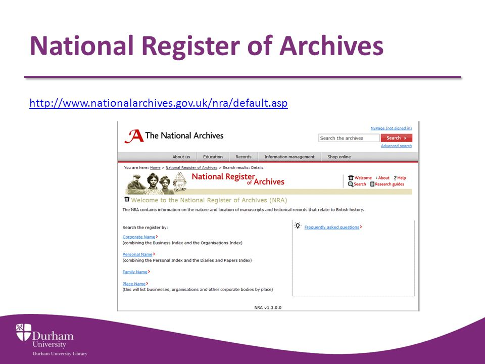 National Register of Archives http://www.nationalarchives.gov.uk/nra/default.asp