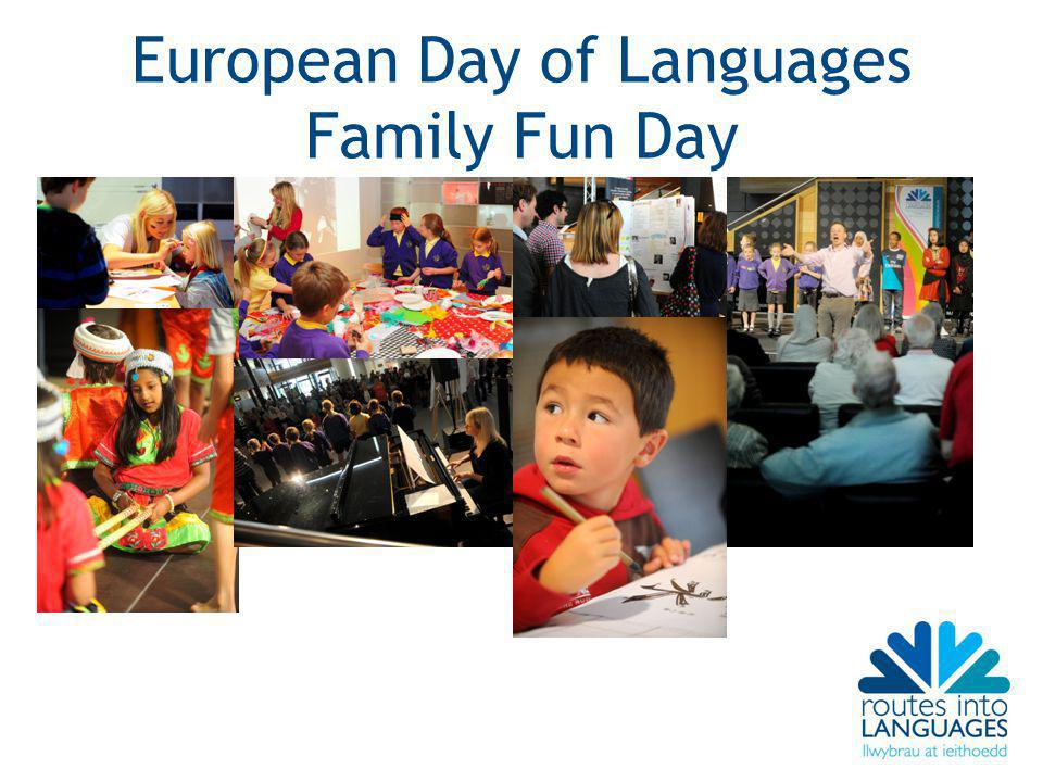 European Day of Languages Family Fun Day