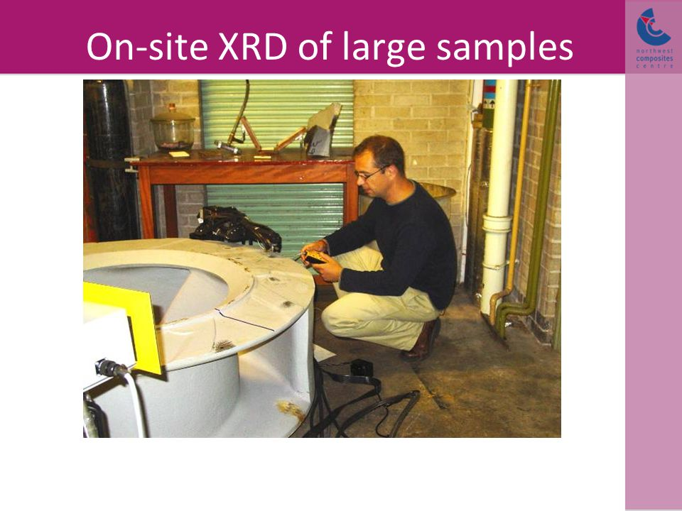 On-site XRD of large samples