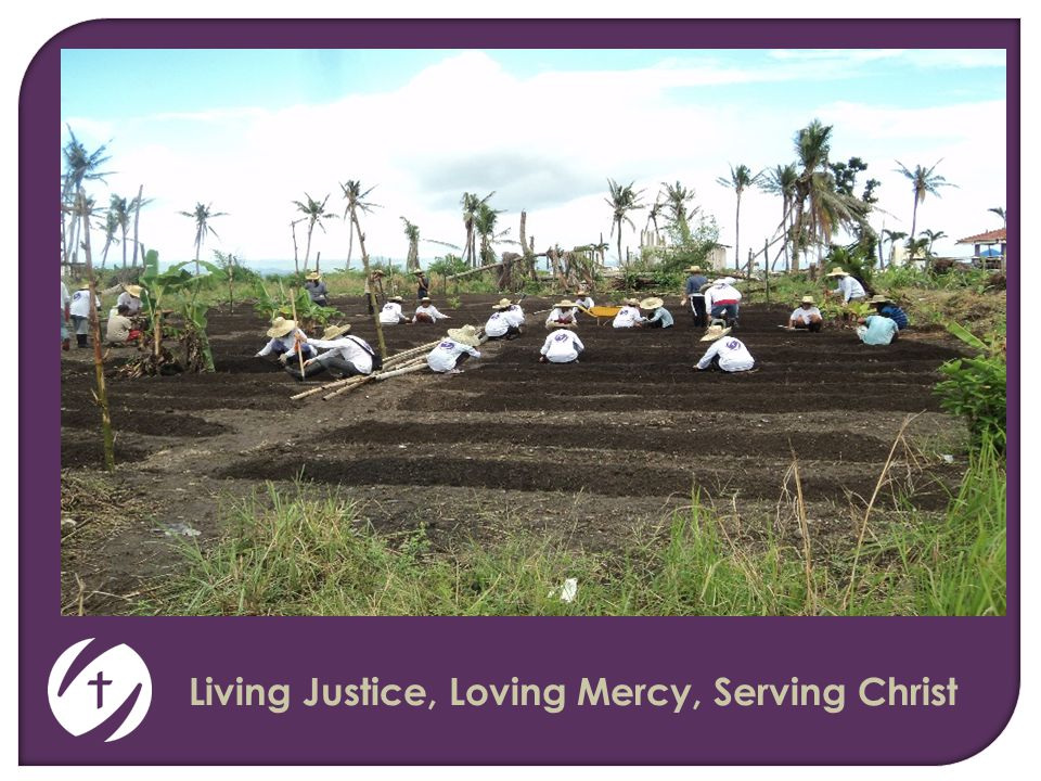 Living Justice, Loving Mercy, Serving Christ