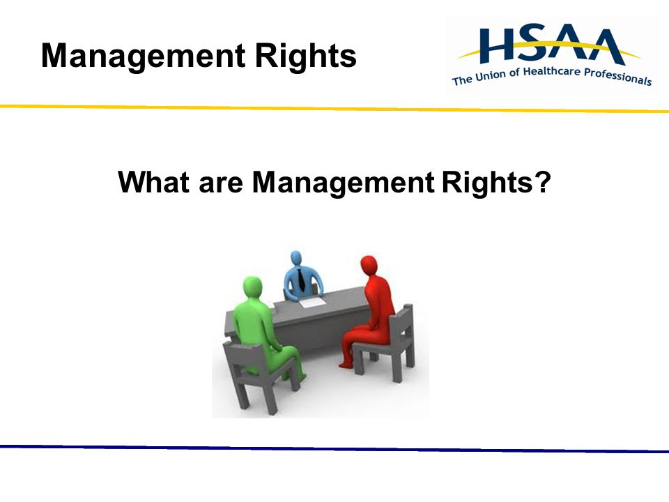 Management Rights What are Management Rights