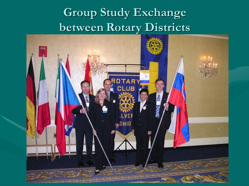 Group Study Exchange between Rotary Districts