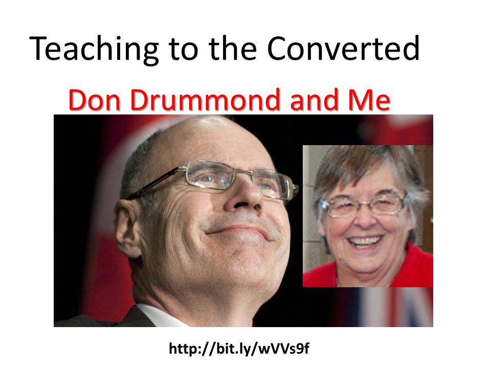 Teaching to the Converted Don Drummond and Me http://bit.ly/wVVs9f