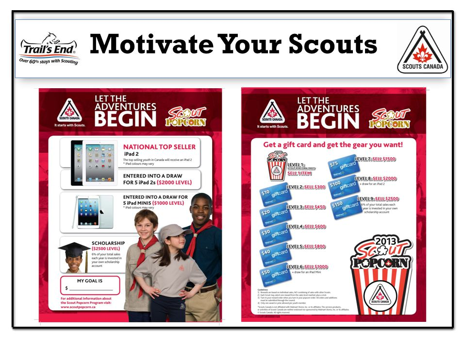 Motivate Your Scouts