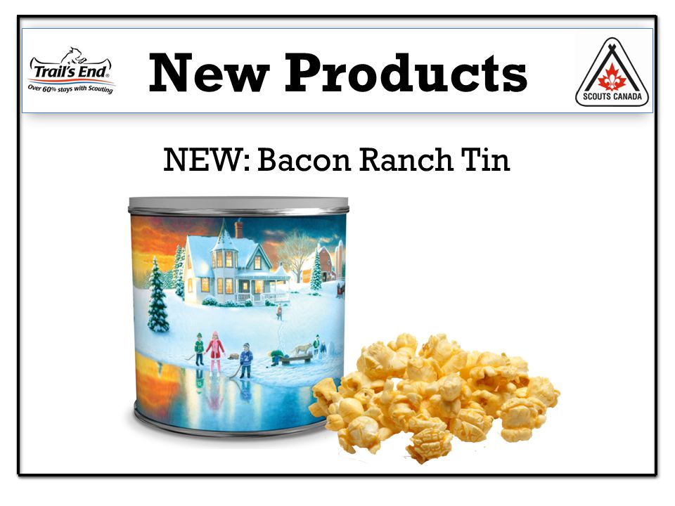 NEW: Bacon Ranch Tin New Products