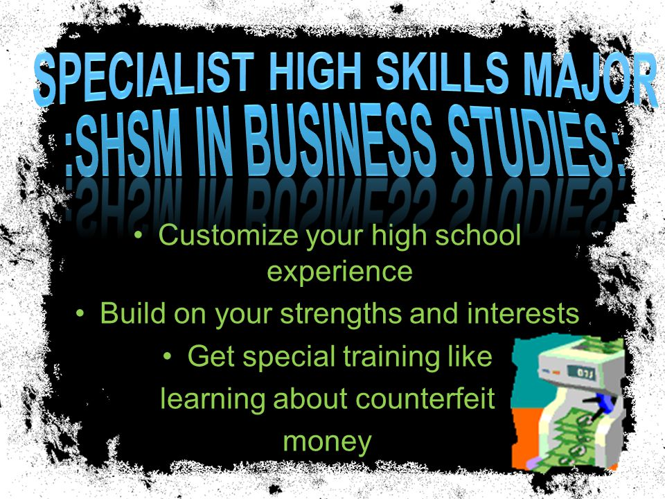 Take SIX business courses and you graduate with a