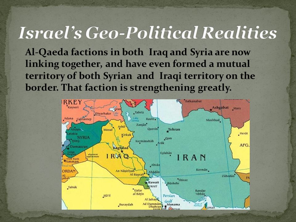 Al-Qaeda factions in both Iraq and Syria are now linking together, and have even formed a mutual territory of both Syrian and Iraqi territory on the border.