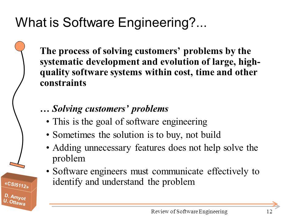 csi5112 d amyot u ottawa csi 5112 review of software engineering