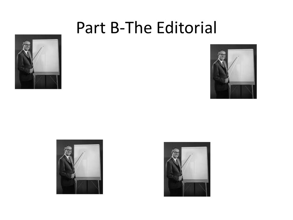 Part B-The Editorial