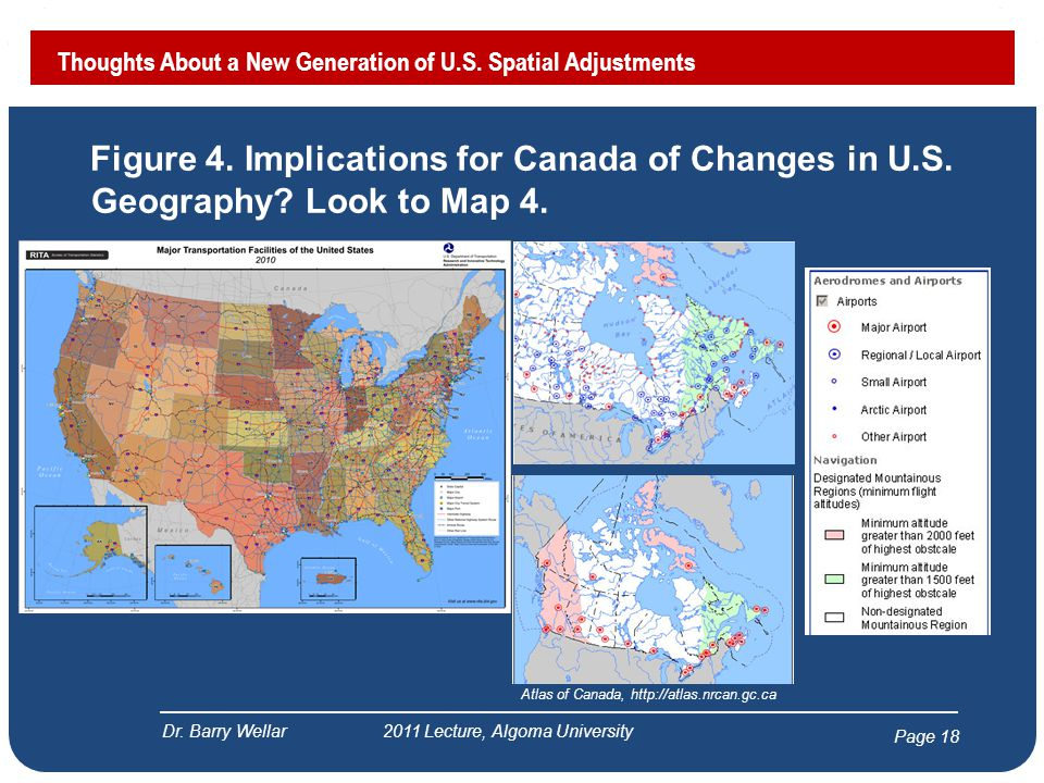 Page 18 Figure 4. Implications for Canada of Changes in U.S.