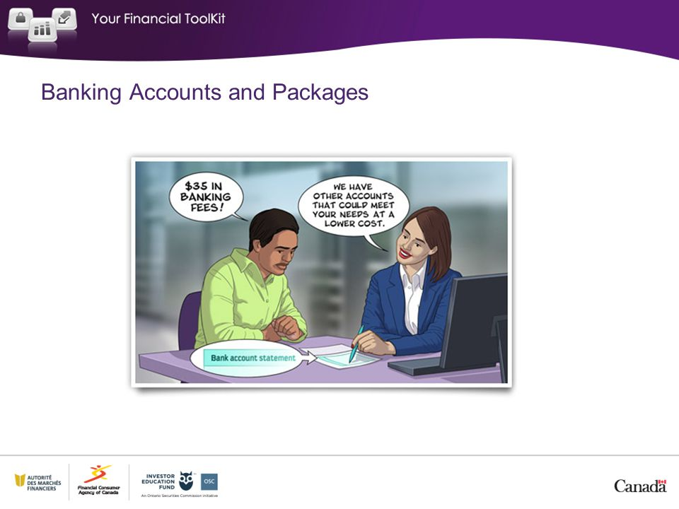 Banking Accounts and Packages