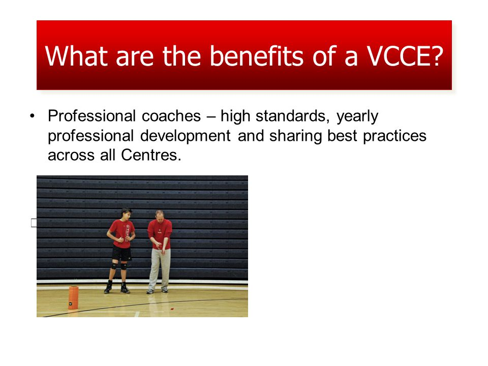 Professional coaches – high standards, yearly professional development and sharing best practices across all Centres.