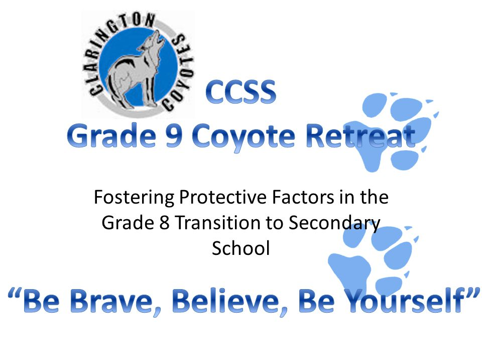 Fostering Protective Factors in the Grade 8 Transition to Secondary School