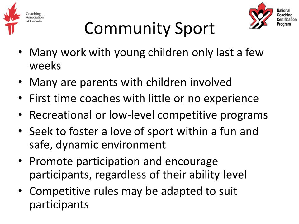 National Coaching Certification Program Introduction to Competition ...