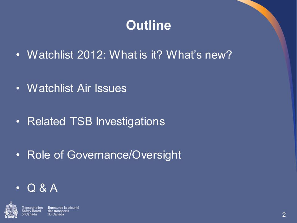 2 Watchlist 2012: What is it. What's new.