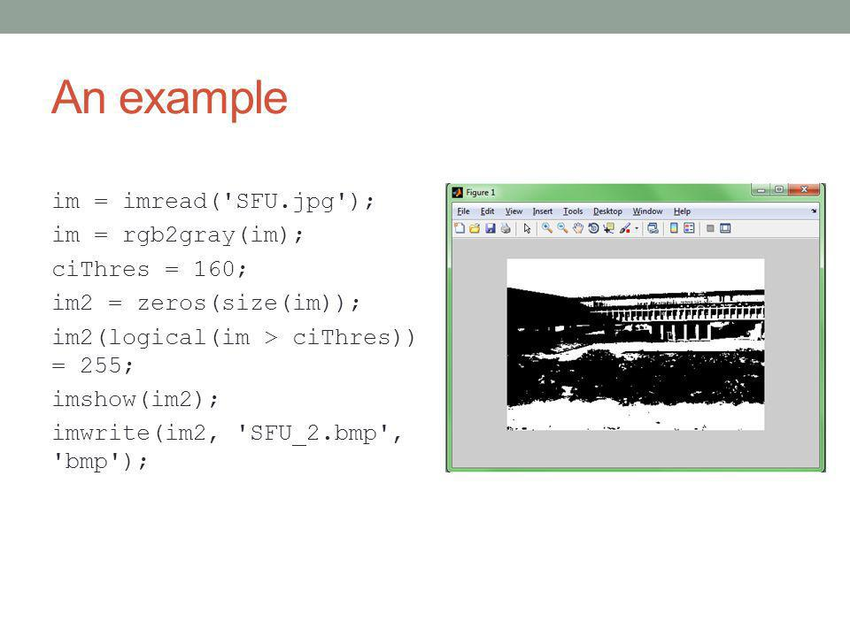 Tutorial on Matlab and OpenCV Rui Ma TA of CMPT 414 May 14, 2013