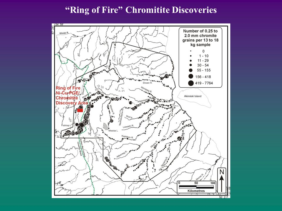Ring of Fire Chromitite Discoveries