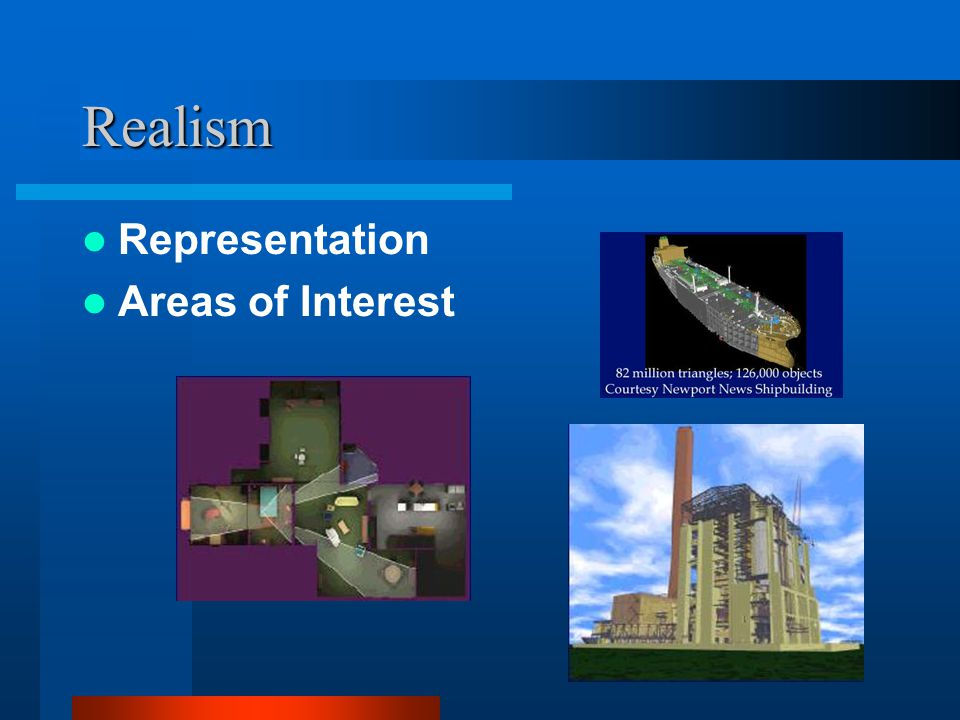 Realism Representation Areas of Interest