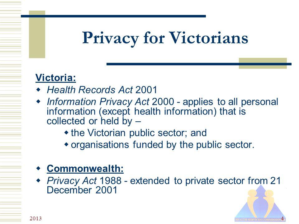PRIVACY ACT 2000 VICTORIA EBOOK DOWNLOAD