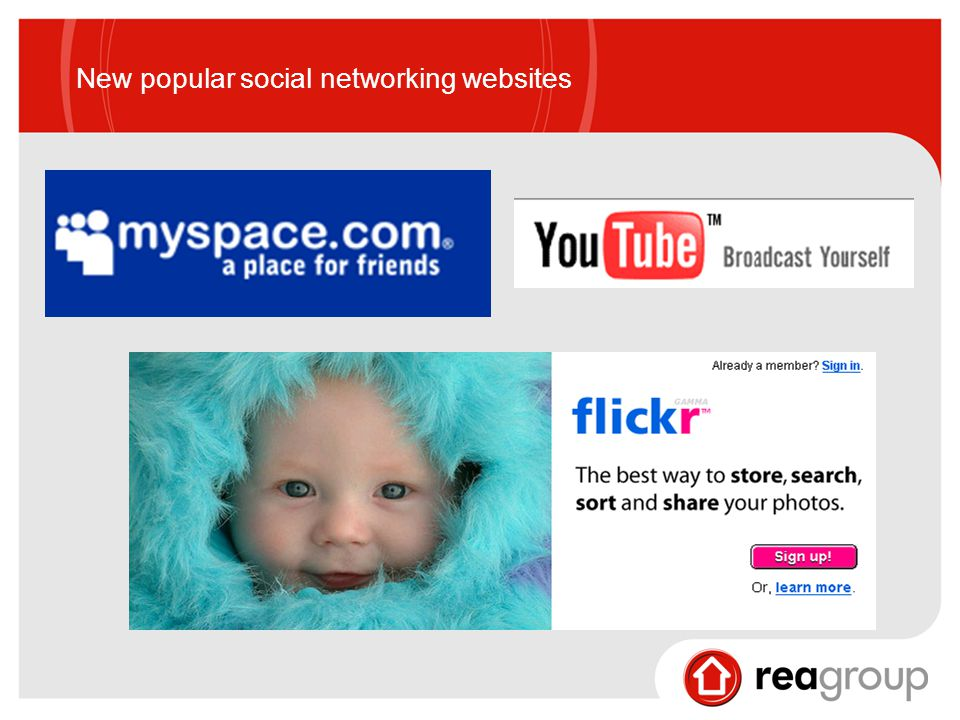 New popular social networking websites