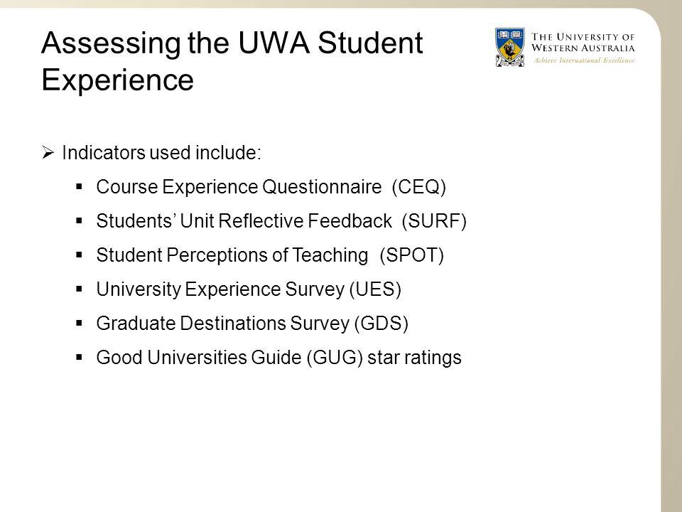 student experience student satisfaction robert mccormack director